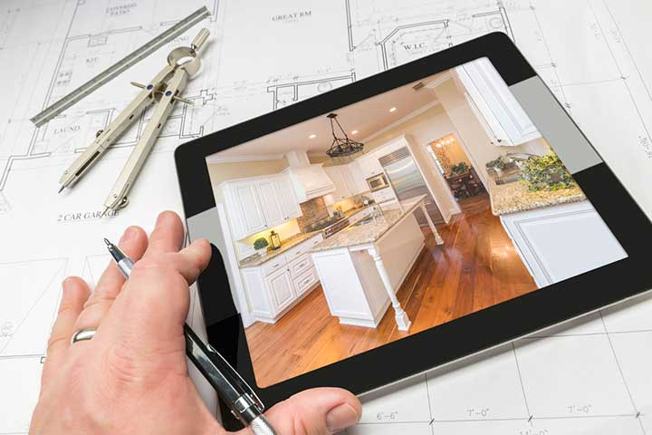smart home drawing